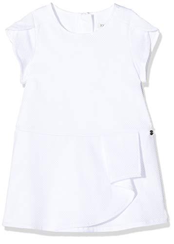 IKKS Junior Robe gaufrée Blanche Jupe, Blanc (Blanc Optique 01), 18-24 Mois (Taille Fabricant:18M) Bébé Fille