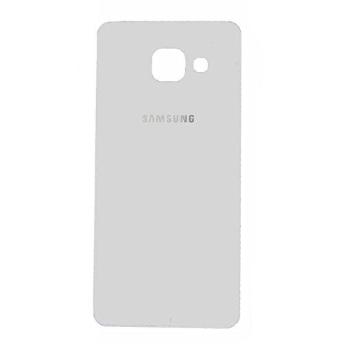 Todotumovil Tapa de bateria Cristal Trasero para Samsung Galaxy A5 2016 510F Blanco