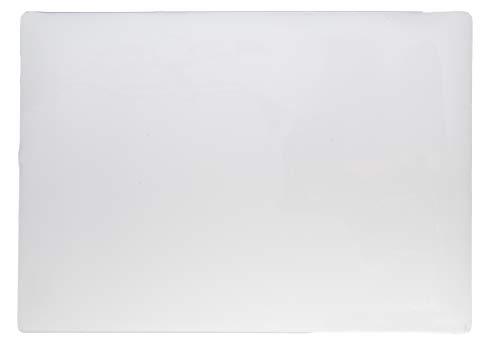 Protector de escritorio transparente de PVC, formato 600 x 420 mm, 1 mm de grosor
