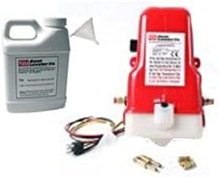 New OEM Boat Leveler INSTATRIM from AMM UNIV Pump/Motor for Replacement for BENETT NOT BOATLEVELER Pump Sets Complete with Conversion to Bennett OR Others with Adapter for Switch & Plastic Hose