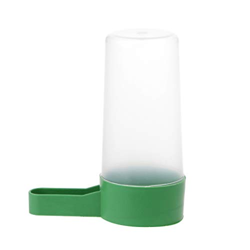 Kathope S/L Vogeltrinker Food Feeder Waterer Clip Für Voliere Wellensittich Nymphensittiche