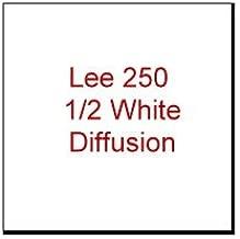 LEE FILTERS 250 SHEET HALF WHITE DIFFUSION SHEET Gel-Sheets