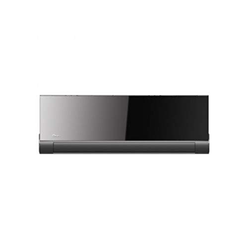 Midea Aire acondicionado tipo split, modelo Vertu Plus 26(09)N1, unidad interior, unidad exterior y mando, 18,2 x 89,7 x 31,2 centímetros, color negro (referencia: VERTU Plus 26(09)N1)