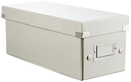 Leitz Click Store Contenitore per Cd - Bianco Metallizzato - 60410001