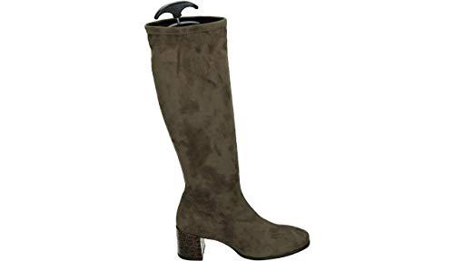 RAPISARDI SELLY DW20-S9.25-CMC07 - Lange laarzen - Kleur: Taupe - Maat: 41