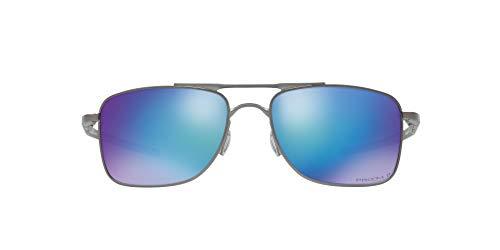 Oakley Gauge 8 Gafas de sol, Matte Gunmetal, 57 para Hombre