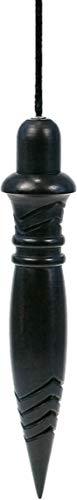 Pendule thot iroko teinte noir grave plombe -22 gr