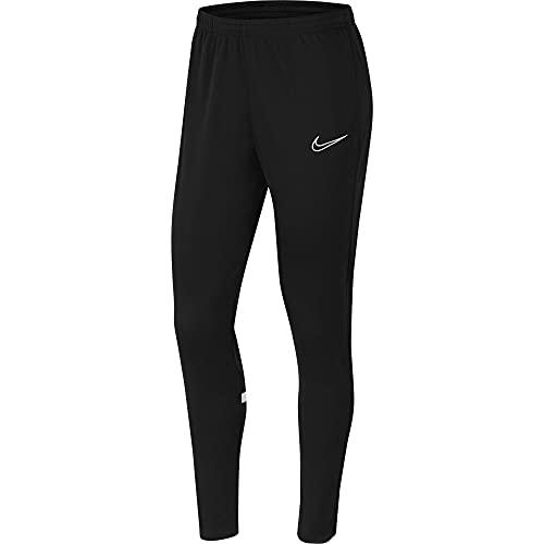 NIKE Pantalones de chándal para Mujer Academy 21, Mujer, Pantalones Deportivos, CV2665-010, Black/White/White/White, XX-Small