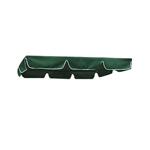 YNLRY Columpios para silla, toldo de jardín, patio, exterior, columpio para exteriores, toldo impermeable de verano, toldo de repuesto (color verde)