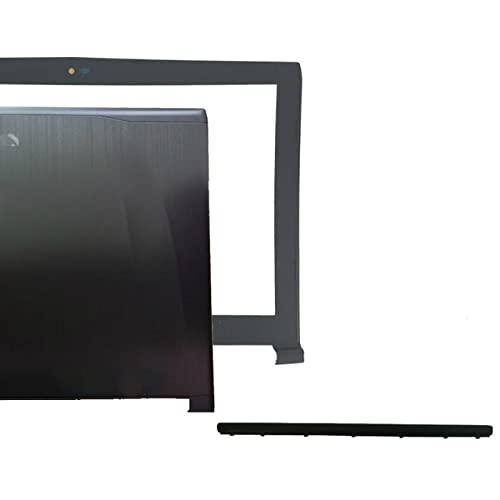 Laptop-Ersatzteile Kompatibel mit MSI GE62 2QD-007XCN MS-16J1 16J1 16J2 16J3 Obere LCD-Rückseite schwarz Non-Touch/LCD-Rahmenabdeckung/LCD-Scharniere LundR/Scharnierabdeckung ( Color : A B H cover )