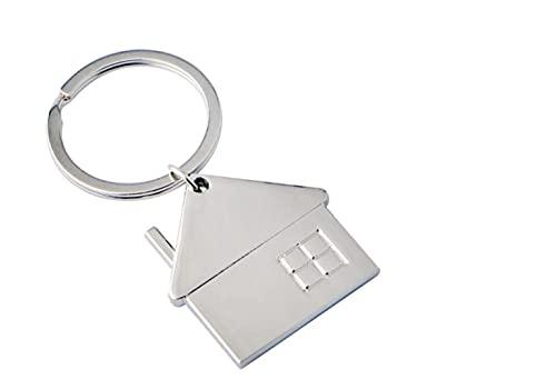 Haus für Sie oder Ihn Schlüsselanhänger Schlüsselring / Geliebte  Geschenk   Hochzeit   Verlobung   Einzug   Häusle   Partnerschlüsselanhänger   Liebe   Home   Familie
