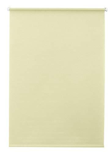 erfal Klemmfix Rollo Verdunklungsrollo lichtdurchlässig ohne Bohren für Fenster B = 80 x H = 150 beige