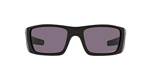 Oakley Men's OO9096 Fuel Cell Rectangular Sunglasses, Matte Black/Prizm Grey, 60mm