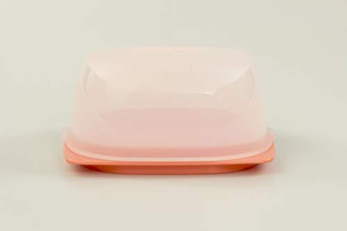 Tupperware KäseMax Mini pfirsichfarben A197 Käsebehälter Käse Kondenspro Mini