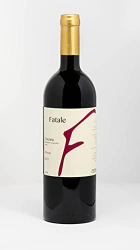 Italienischer Rotwein Fatale IGT Sangiovese Trauben aus der Toskana 0.75 l Jahrgang 2017 Produktionsgebiet Montepulciano unser Wein aus Italien.