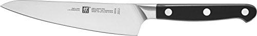 Zwilling Cuchillo de chef Pro Compact 14cm en plata/negro, Acero, 14 x 5 x 5 cm