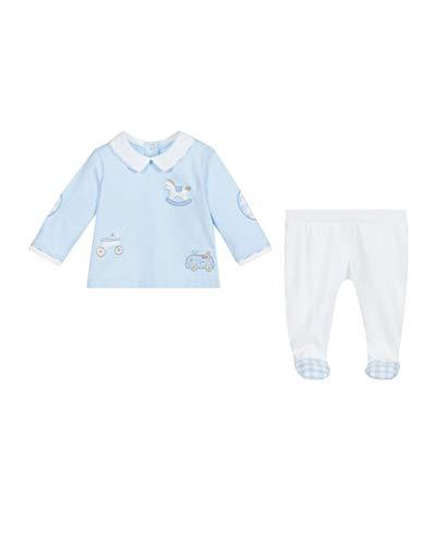Mayoral Incluye placa combinada para niño azul celeste 55 cm(0-1 meses)