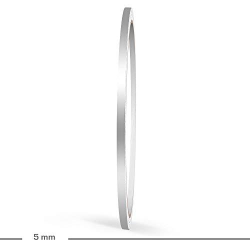 Doppel Zierstreifen 6 mm GELB MATT aufgeteilt in 2 mm Streifen + 2 mm ABSTAND + 2 mm Streifen 10 Meter f/ür Auto Boot Motorrad und Modellbau