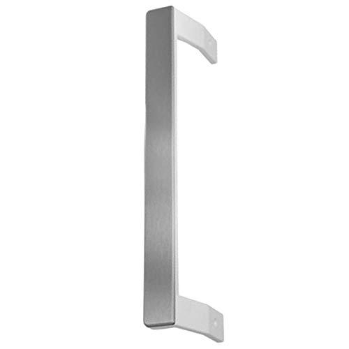 Spares2go Manija de puerta para Frigorífico Beko Congelador/Frigorífico (Plata/Granito)