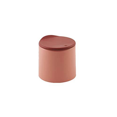 Lpiotyuljt Cubo Basura Reciclaje, 1pc Mini Mini Desktop Papelera con Tapa, Utilizada para encimeras de Oficina, contenedores de Papel de desechos pequeños para Mesa de Centro/Mesa/de Escritorio, v