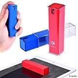 2in1 Bildschirmreinigende Sprühflasche und Tuch - 2er Pack - Reinigen Sie sofort den Bildschirm Ihres Telefons, Tablet, TV, Laptop - Einfach aufsprühen und abwischen - Kompakt - Ideal für unterwegs