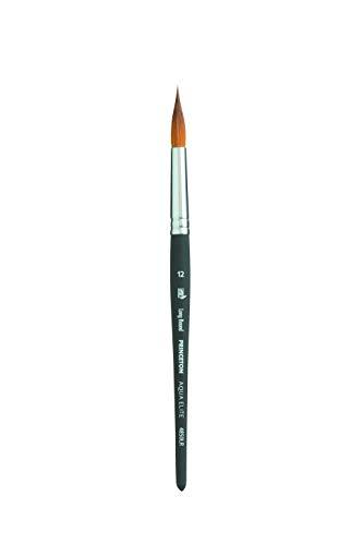 Princeton Aqua Elite, Series 4850, Synthetic Kolinsky Watercolor Paint Brush,Long Round, 12