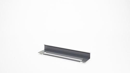 Naber, Linero MosaiQ Tuchleiste 2. Von unten einhängbar, Titan grau