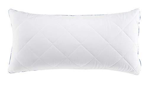 Schlafwohl® Taschenfederkern Kopfkissen I 40x80cm I mit abnehmbarem Kissenbezug