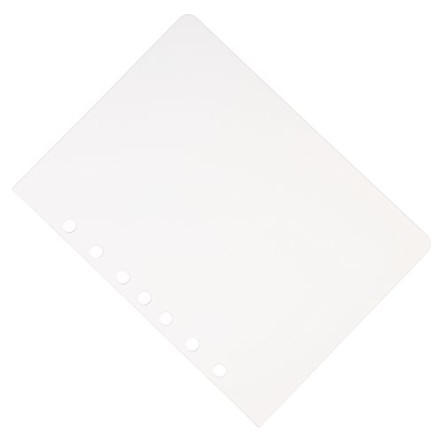 7 Hole Aerobind QRH Cover - 6.71 Inch Wide Clear Rigid Pilot Checklist Cover - 2 Per Pack