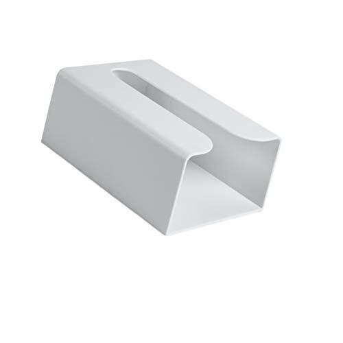 Cabilock Väggmonterad toalettpappershållare touchless papper handduk dispenser badrum näsdukslåda för hem tvättstuga kök bänkskiva grå