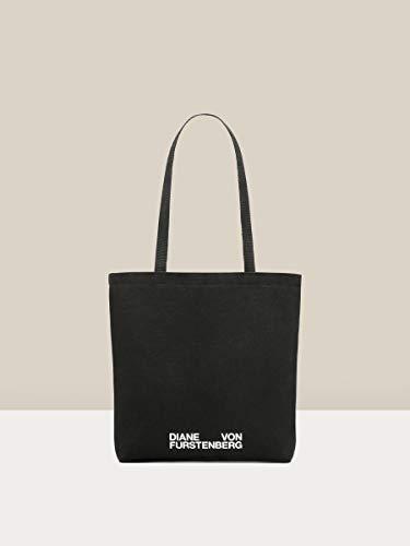 Diane von Furstenberg Women's InCharge Tote Bag, Black, one size