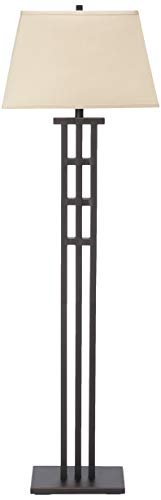 Kenroy Home 32158BRZ McIntosh Floor Lamp, 58 Inch Height, 17.5 Inch Width, 12 Inch Extension, Bronze
