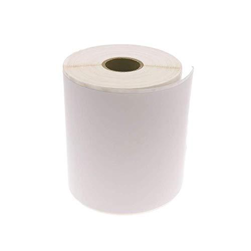 BeMatik - Rollo bobina de 380 etiquetas adhesivas para impresora térmica directa 101.6x152.4mm