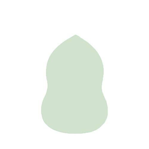 Éponge oeufs cosmétique cosmétique beauté éponge maquillage éponge poudre maquillage maquillage arponge Fondation BB CC Crème Cosmétiques Éponge (Couleur : Green Gourd)