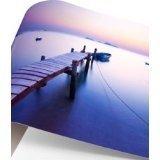 papel fotográfico adhesivo 150 hojas de impresión brillante láser A3 CT con recortes en el papel detrás