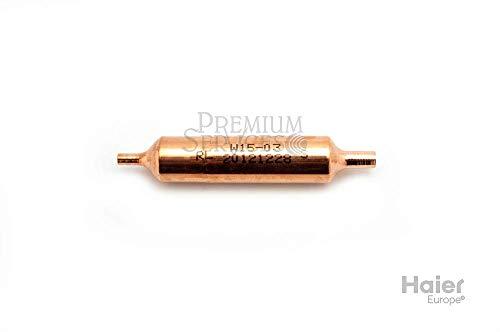 Original Haier-Ersatzteil: Filter für Side-by-Side Kühlschrank Herstellernummer SPHA00006728 | Kompatibel mit den folgenden Modellen: HRFZ-316AAS;HRFZ-316AAB;HRFZ-250DAAS;HRFZ-250DAA;HRFZ-250DAAB;HRFZ