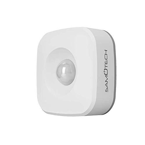 Samotech® SM301Z Smart Zigbee Bewegungssensor, kompatibel mit Echo Plus und Echo Show 2. Generation (ZigBee-Bewegungssensor)