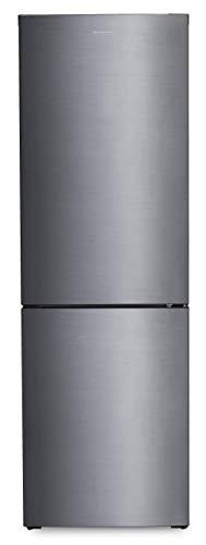 FRIGORIFICO COMBI INFINITON FGC-232IX (A+ F, INOX, No Frost Total, Alto 185cm, 320 litros, Fresh Zone, Luz Led, Frigo mas congelador 2 Puertas, Independiente)