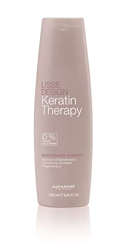 Alfaparf Lisse Design Keratin Therapie Pflege Shampoo, 250ml