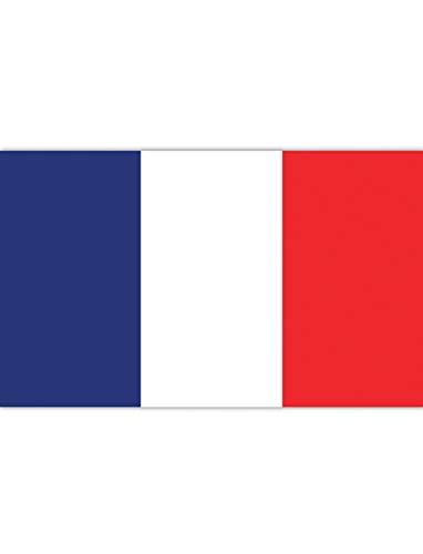 """TrendClub100® Fahne Flagge """"Frankreich France FR"""" - 150x90 cm / 90x150cm"""
