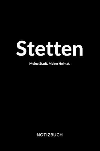 Stetten: Notizblock | Notizbuch | DIN A5, 120 Seiten | Liniert, Linien, Lined | Notizen, Termine, Planer, Tagebuch,...