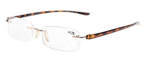 Eyekepper Piccolo Lenes senza montatura occhiali da lettura Uomo Donne +1.50