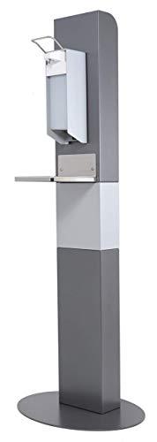 Hygienewächter 11 Desinfektionssäule Bodenständer Desinfektionsspender Maße (BxHxT): 200 mm x 1300 mm x 95 mm