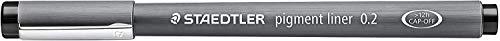 Pennarello Pigment Liner 308 - nero - 0,2mm - Staedtler
