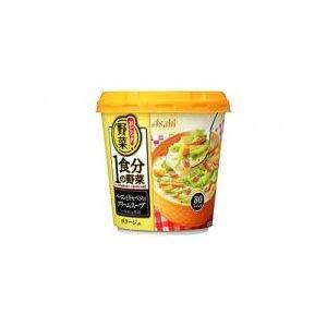 アサヒグループ食品 おどろき野菜 1食分の野菜ベーコンとキャベツのクリームスープ 20.8g ×6個