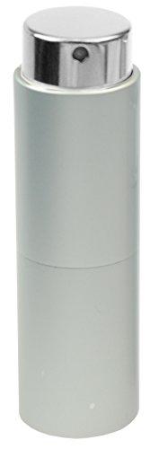 Fantasia - Vaporisateur de poche Argent Tête Vaporisateur Rotatif pour 10 ml Hauteur 8 cm
