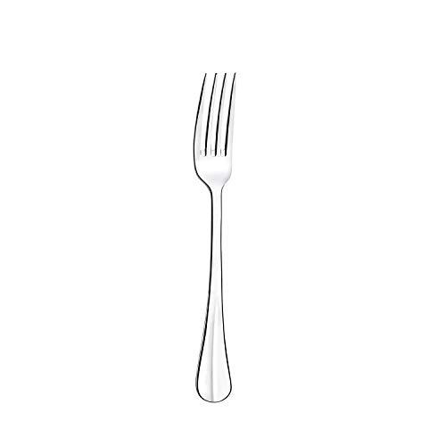 Set 12 forchette da tavola, in acciaio inox 18/0, spessore 2,5 mm, lunghezza 205 mm
