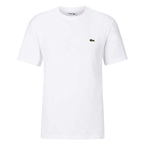 Lacoste Sport TH7418 Camiseta, Blanc, XXL para Hombre