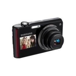 Samsung PL PL150 Kompaktkamera 12,4 MP 1/2.33 Zoll CCD 4000 x 3000 Pixel Schwarz - Digitalkameras (12,4 MP, 4000 x 3000 Pixel, CCD, 5X, HD, Schwarz)