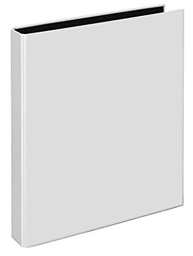 Veloflex 4143290 Ringbuch VELOCOLOR Classic, Ordner, Ringordner, 4-Ring-Mechanik, DIN A4, Karton, weiß